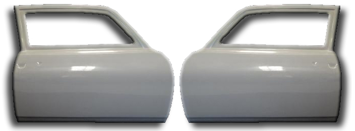 & 1968 - \u002774 Chevy II Nova Fiberglass Doors - Right and Left